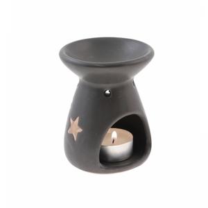 7.315.2 Duftlampe, Reiselampe Spirale/Stern schw..