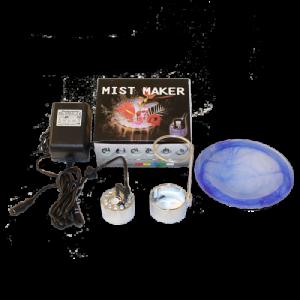 8.821S Vernebler Mist Maker mit LED inkl. Spritz..