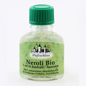 Neroli (Orangenblüte) Bio, Tunesien, 1ml in 10ml Jojobaöl, 11ml