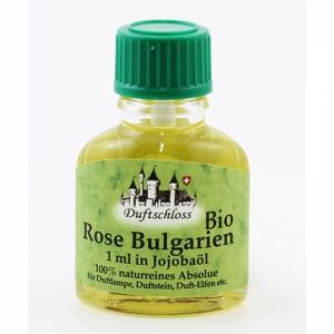 Rose Bio, Bulgarien, 1ml in 10ml Jojobaöl, 11ml