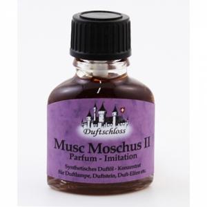Musc Moschus II (Duftschloss) - Parfümkonzentrat, synthetisch, 11ml
