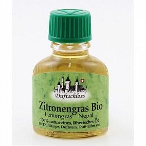 Zitronengras Bio (Lemongrass), Nepal, 100% naturrein, 11 ml